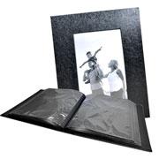 Álbum preto c/ visor 200 fotos 10x15 cm