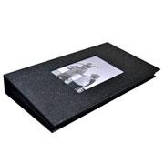 Álbum preto com visor para 300 foto 10x15 cm