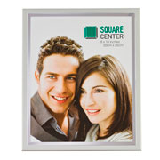 Porta retrato aço branco 20x25 cm