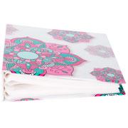 Àlbum Flower rosa para 100 fotos 10x15 cm