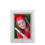 Porta retrato vertical filete espelhado 10x15 cm