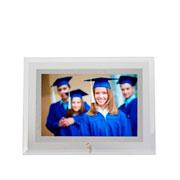 Porta retrato horizontal filete espelhado 15x10 cm