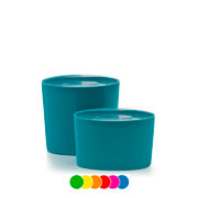 Conjunto Pote Multiuso oval Color 02 peças