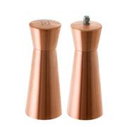 Moedor e saleiro bronze 15 cm