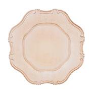 Sousplat romantique off white 33 cm