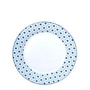 Prato de sobremesa Agatha azul 19 cm