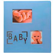 Album azul baby para 200 fotos 10x15 cm