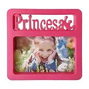 Porta retrato princesa rosa 10x15 cm