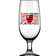 Taça de vidro para cerveja Flamengo 300 ml