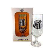 Taça de vidro para cerveja Santos 300 ml