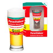 Copo de vidro chopp Paracêtabem 200 ml