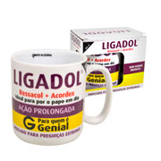 Caneca de porcelana Ligadol 300 ml