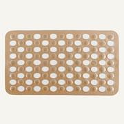 Tapete para box retangular com ventosa Actualle 49x32 cm