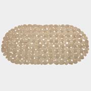 Tapete para box retangular com ventosa formas 68x35 cm