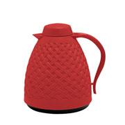 Bule termico rattan vermelho 750 ml