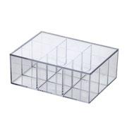 Caixa organizadora com tampa 22x16x08 cm - Elegance