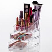 Kit organizador de cosméticos 12 cm - Elegance