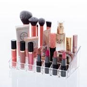 Organizador de cosméticos 12 divisorias 22x14x08 cm - Elegance