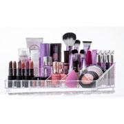 Organizador de cosméticos 21 divisorias 32x18x09 cm - Elegance