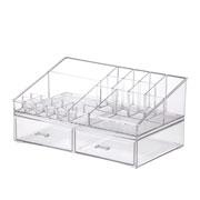 Kit organizador de cosméticos 32x18,5x15,5 cm - Elegance