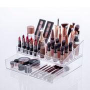 Kit organizador de cosméticos 32x18x15  cm