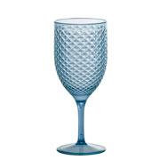 Taça para água e vinho Luxxor Azul Cintilante 480 ml