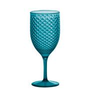 Taça para vinho luxxor Verde água 480 ml