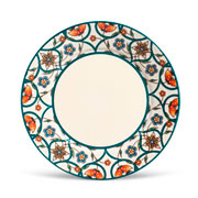 Prato de cerâmica raso monaco fenicia 26 cm