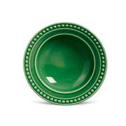 Prato de cerâmica fundo atenas verde salvia 22 cm
