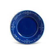 Prato para sobremesa acanthus azul 20 cm