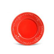 Prato para sobremesa acanthus vermelho 20 cm