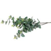 Eucalipto verde outonal artificial 87 cm