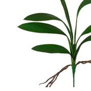 Folha de orquídea artificial 53 cm