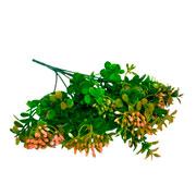 Buque folhagem com frutinha artificial 31 cm