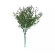 Buque de folhas aspargo artificial 46 cm