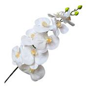 Orquidea branca artificial 94 cm