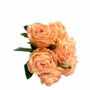 Buque de rosas com botão artificial 26 cm