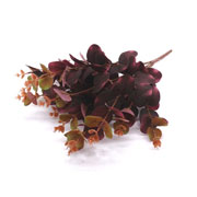 Buque eucalipto vinho artificial 45 cm
