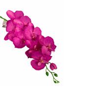 Orquidea roxa artificial 99 cm