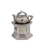 Difusor de aromas em cerâmica prata 16 cm