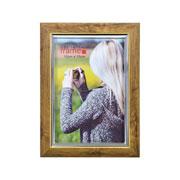 Porta Retrato de plástico marrom 10X15 cm