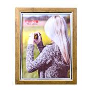 Porta Retrato de plástico marrom 15X20 cm