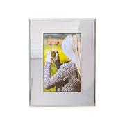 Porta retrato de metal liso 10x15 cm