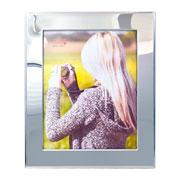 Porta retrato de metal liso 20x25 cm