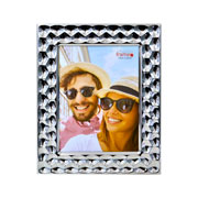 Porta retrato de metal bolhas 15x20 cm