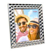 Porta retrato de metal bolhas 20x25 cm