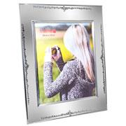 Porta retrato de metal cristal 20x25 cm