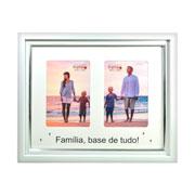 Porta retrato Familía colors para 2 fotos 10x15 cm