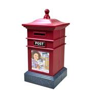 Decoracao cofre caixa de correio 20 cm