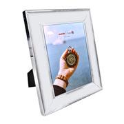 Porta retrato de metal borda funda 15x20 cm